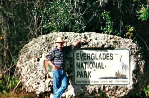 Everglades National Park Main Entrance