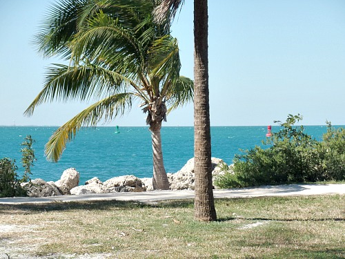Fishing Is Allowed West Side Of Fort Zachary Taylor