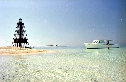 Fishing Key West At Sand Key Lighthouse