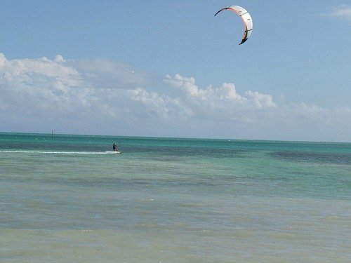 Kiteboarding Florida Keys at Anne's Beach