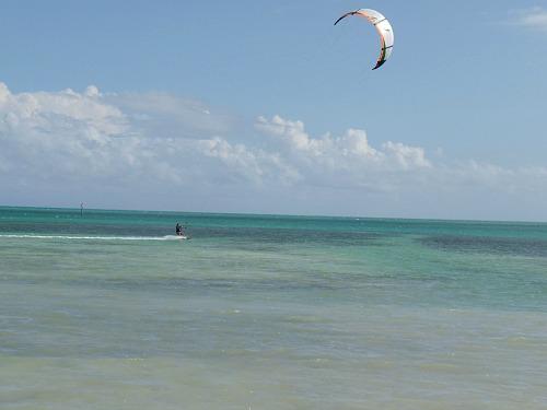 Kiteboarding Florida Keys at Anne's Beach