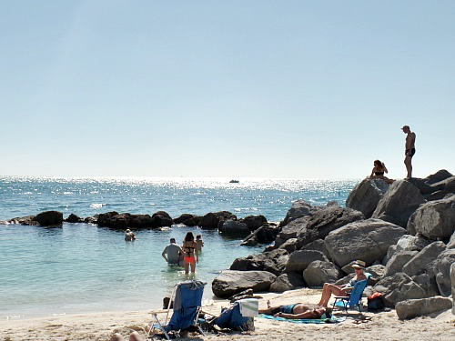 Fort Zachary Taylor Beach Is Popular Key West Military Holiday Destination