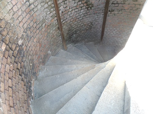 Spiral Staircase Produced Elevated Fighting Advantage At Fort Zachary Taylor