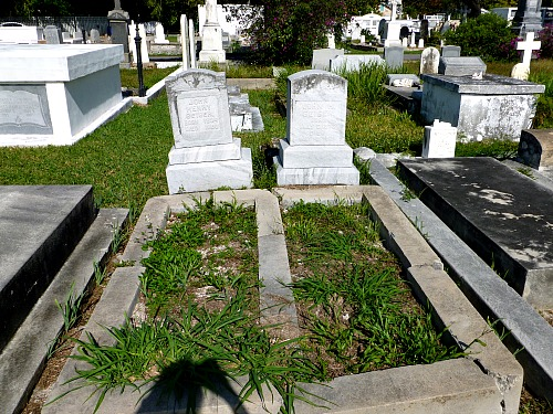Geiger Cemetery Plot At Key West Cemetery
