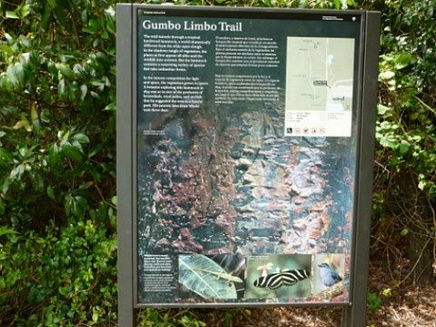 Entrance to Gumbo Limbo Trail