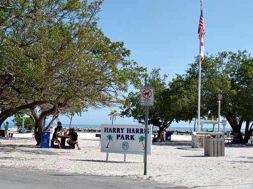 Harry Harris Picnic Grounds And Park Area