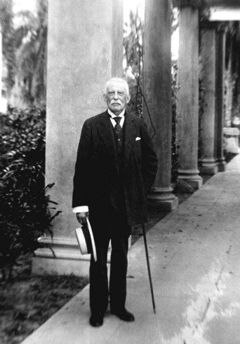 Henry Flagler with Hat and Cane