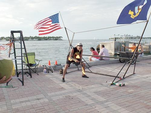 Juggler At Mallory Square For Key West Sunset Celebration