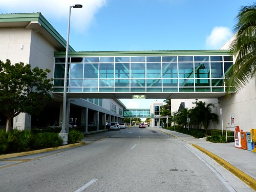 Entrance To Key West International Airport