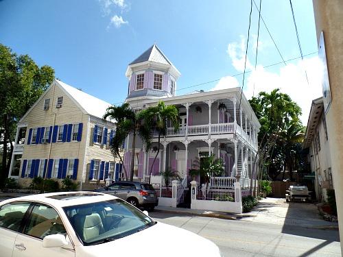 Key West Architecture is a blend of styles including Victorian, Bahamian and Conch