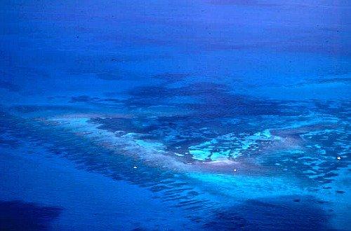 Aerial of Looe Key Reef