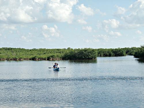 Military Vacations Include Kayaking Florida Keys