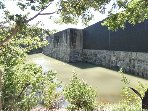 Moat At Fort Zachary Taylor