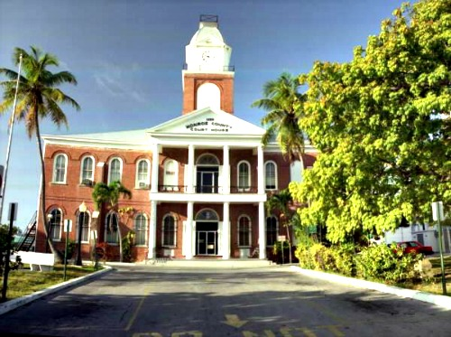 Key West's Monroe County Courthouse is One of Three Locations for Marriage Licenses