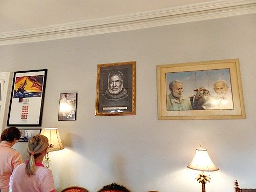 Ernest Hemingway Photos Adorn Walls At Key West Home