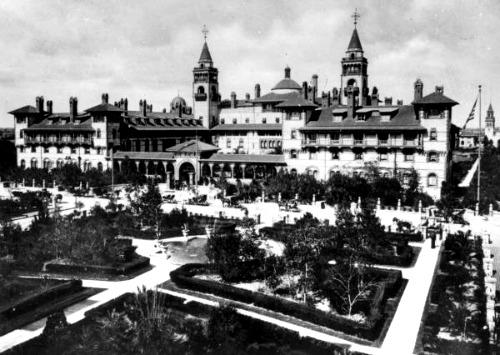 Henry Flagler's Ponce de Leon Hotel St Augustine Florida