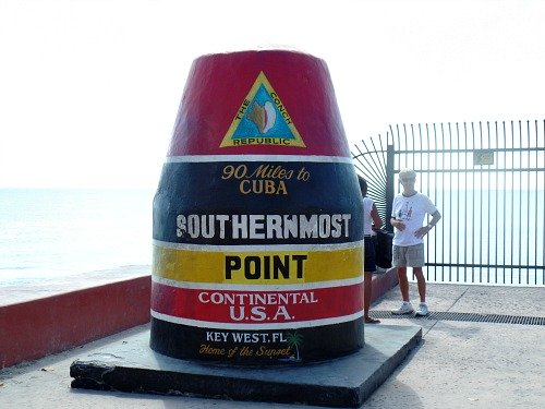 Southernmost Point Buoy Marker in Key West