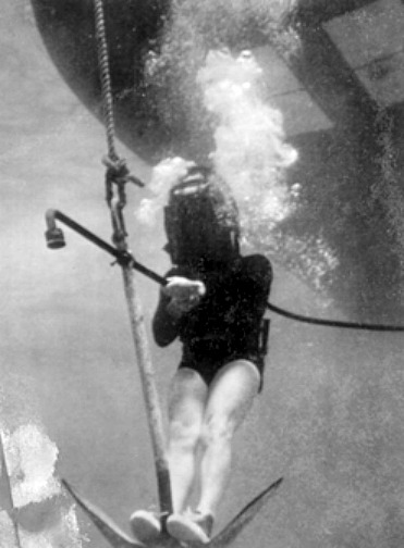 Art McKee Descending Jolly Roger Anchor to El Rubi