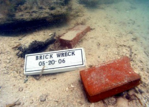 Red Brick From Brick Wreck