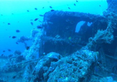 Northern Light Wreck Lies at Elbow Reef