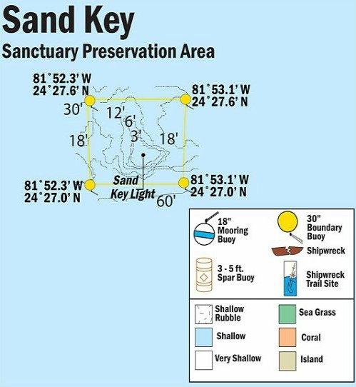 Sand Key Map