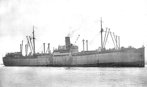 USS Edward Luckenbach Returns to New York with Troops