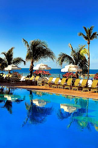 Southernmost Hotel Vertical Pool